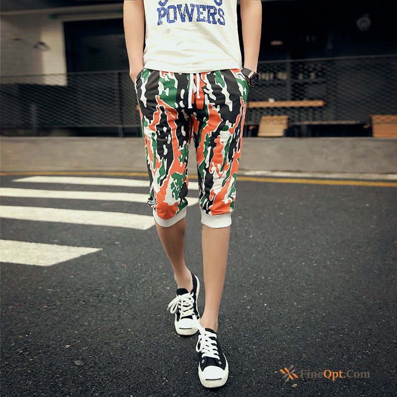 Cheap Camouflage Outdoor Sport Leisure Cropped Trousers Lovers Pants Shorts