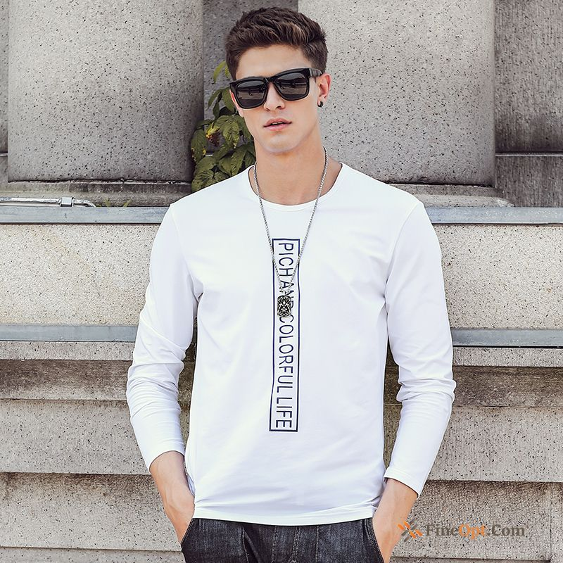 Leisure Bottoming Shirt Slim Simple Coat Spring New T-shirts