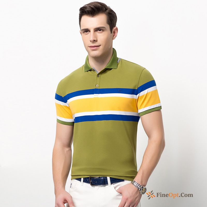 New Shorts Leisure Lapel Youth Summer Sleeve T-shirts