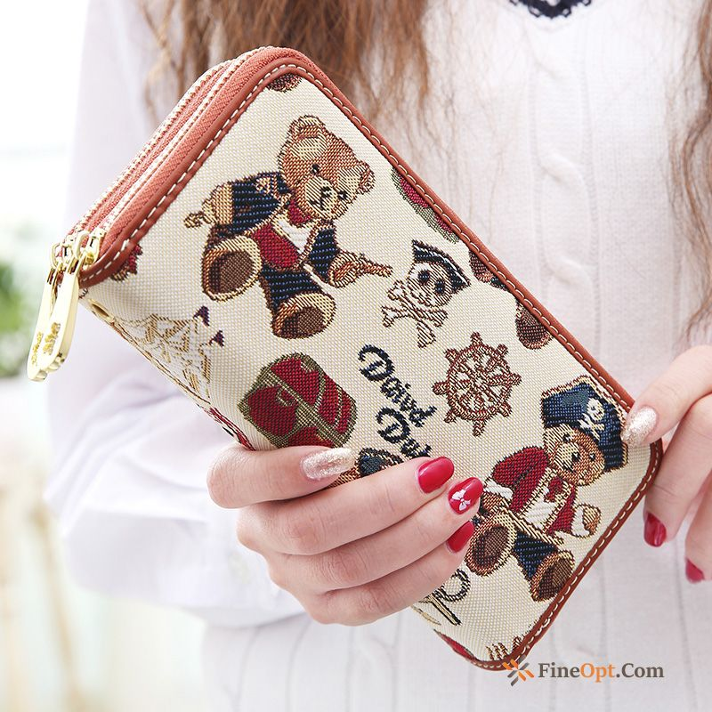 Wallet Women Bear Zipper Student Clutch Bag Small Wallets Online