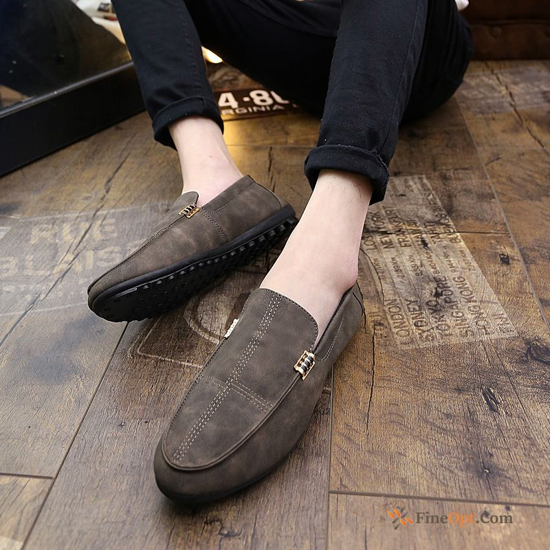 All-match New Youth Leather Shoes Men's Trend Spring Loafers