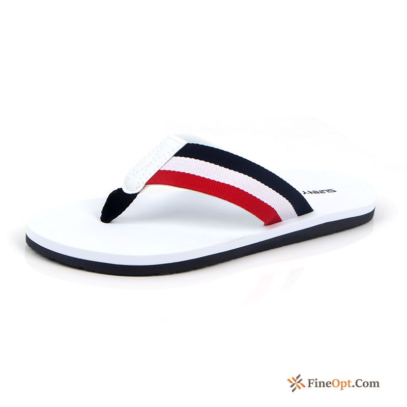 Anti-skid Casual Beach Slippers Men's Flip Flops Summer Lemon Flip Flops