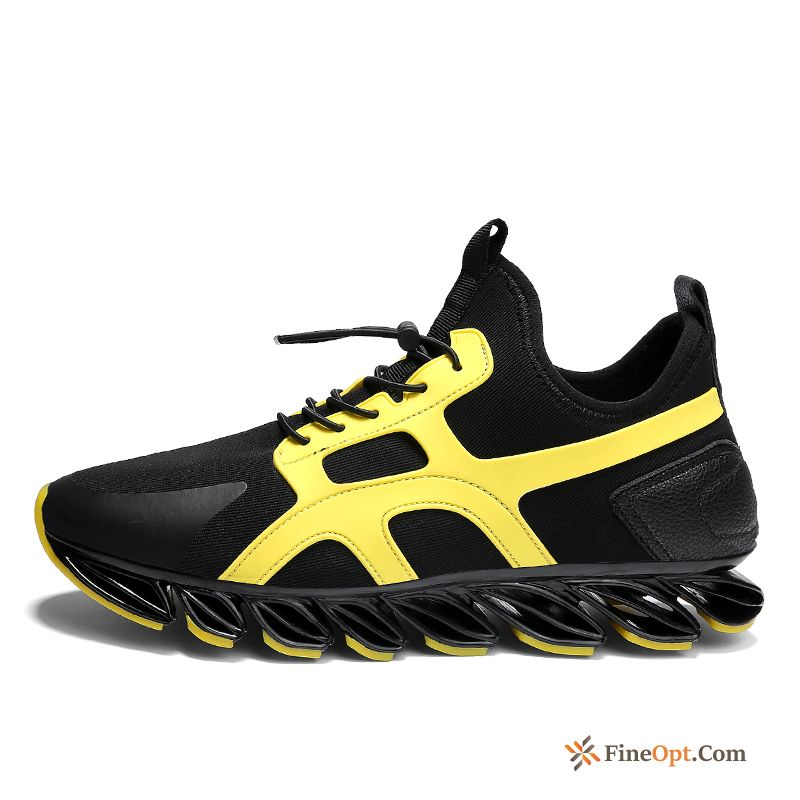 Athletic Shoes Running Shoes All-match Men's Trend Black Spring Running Shoes Online