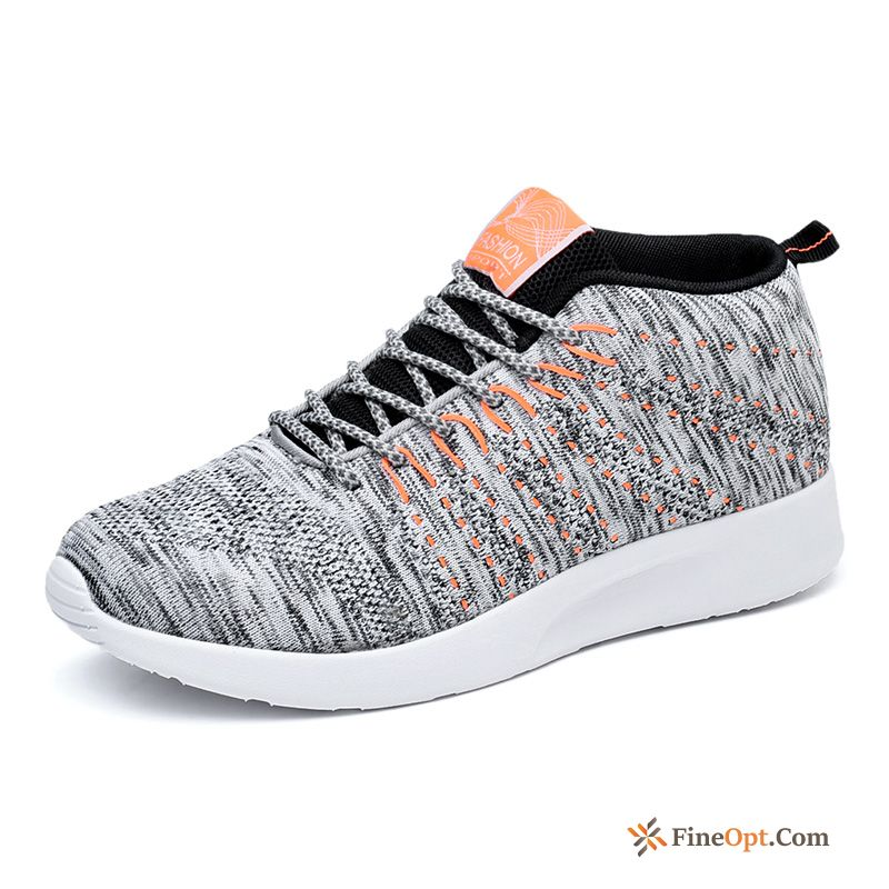 Athletic Shoes Summer Flying Weaving Trend Breathable Running Shoes Causal Shoes Running Shoes
