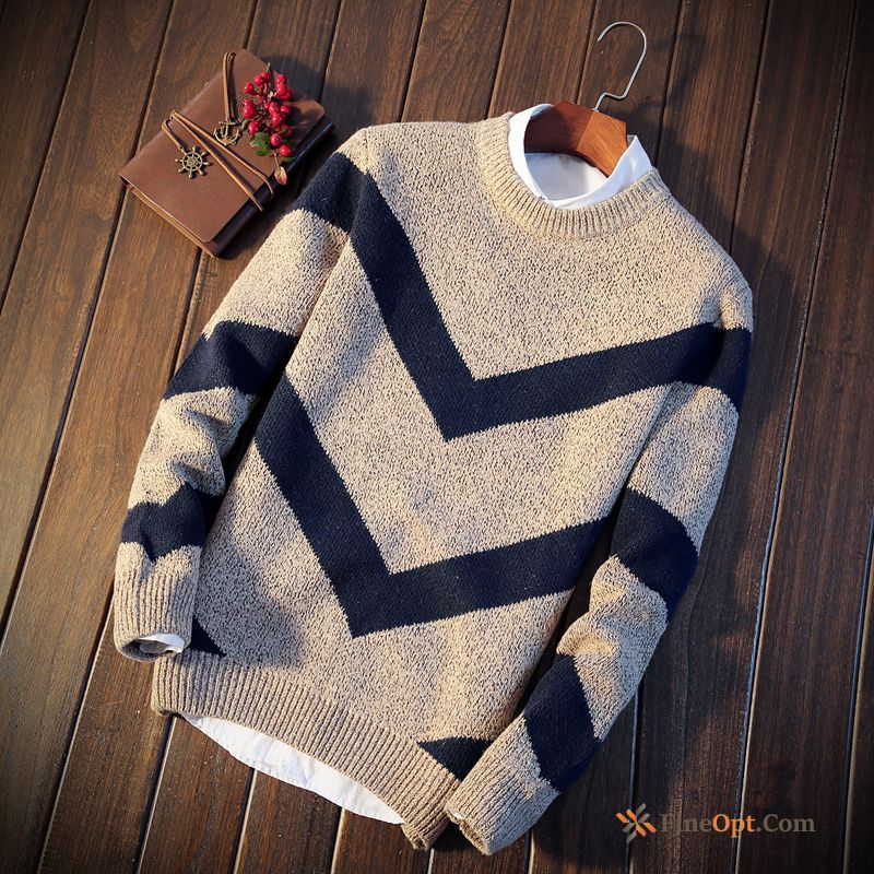 Autumn Student Fashion Men's Coat Sweater Leisure