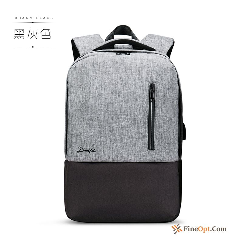 Backpack Trend Youth School Bag Leisure Men's Simple Backpack Discount