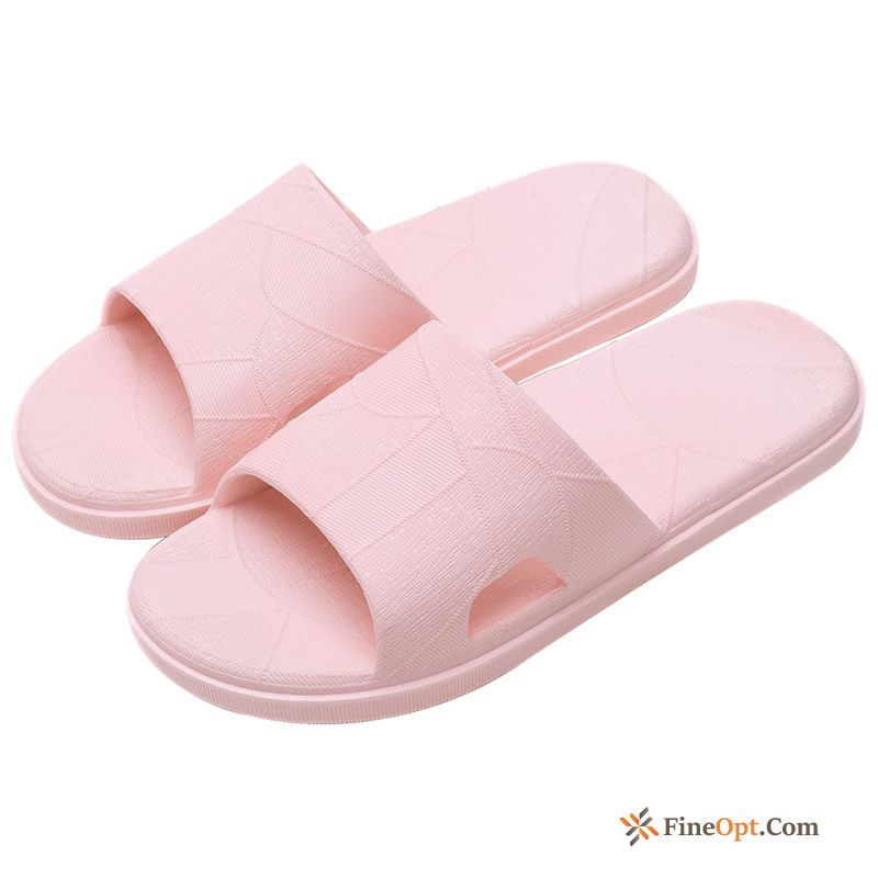 Bathroom Pink Slippers New Men's Anti-skid Summer Slippers