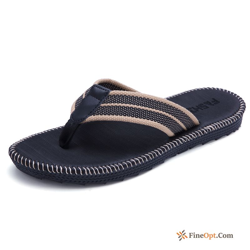 Beach Trend Men's Flip Flops Lovers Student Slippers Flip Flops Online