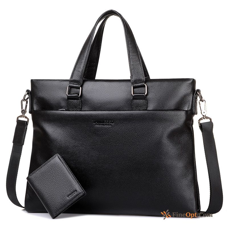 Business Laptop Bag Beef Leather Bags Wallet Genuine Leather Briefcase Handbag Online
