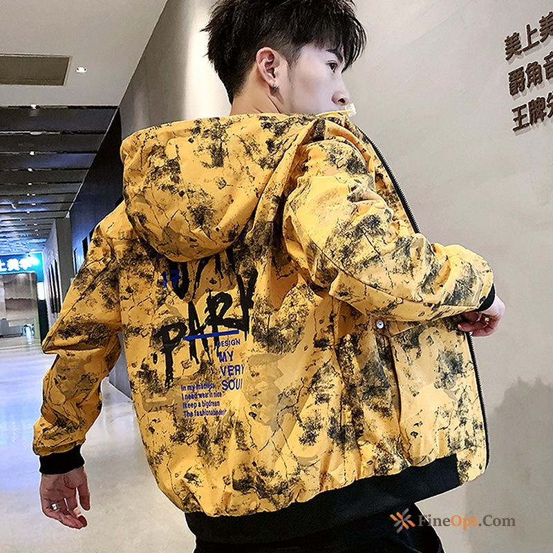 Camouflage Spring Cargo Coat Europe Handsome Autumn Jacket Discount