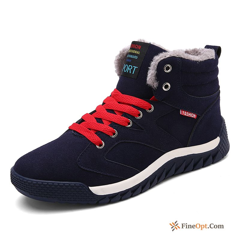 Casual Snow Boots Thermal Cotton Shoes Trend High Top Winter Discount