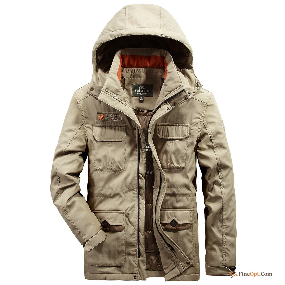 Cheap Anti-season Down Jacket Thickening Clearance Sale Men's Long Coat