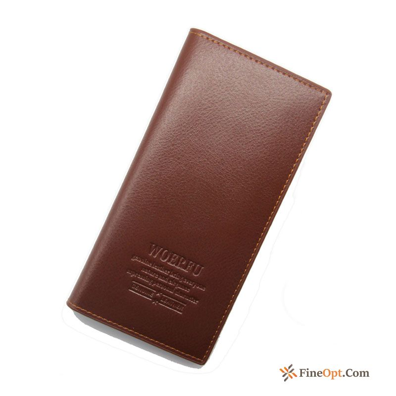 Cheap Card Package Business Men Trend Ultra-thin Men's Fashion Wallets