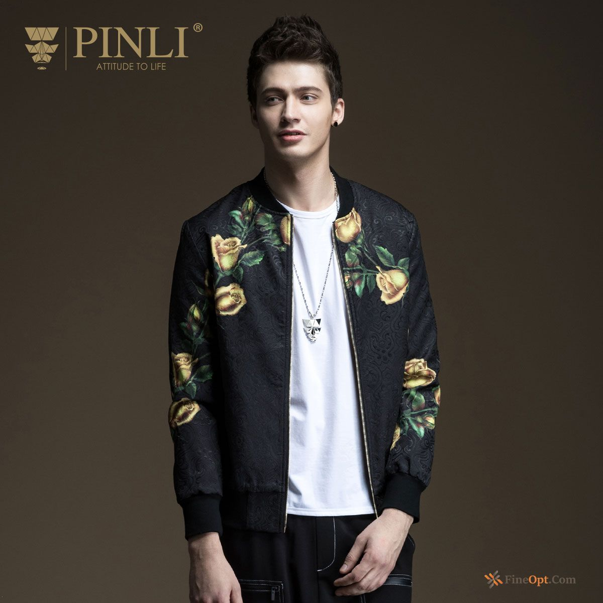 Cheap Coat New Jacket Printing Flower Spring Trend Jacket