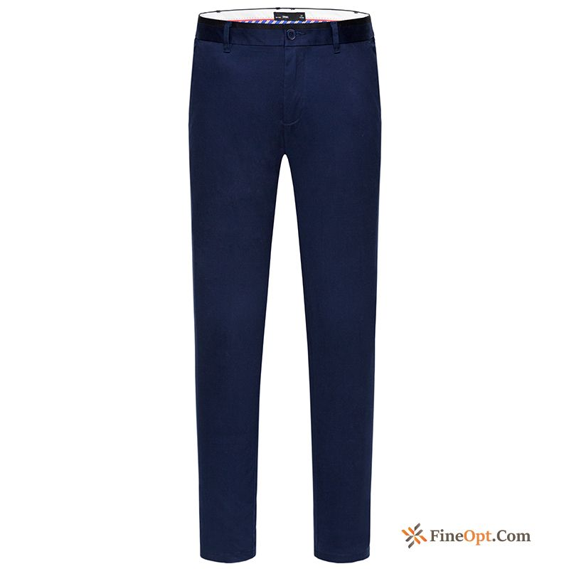 Cheap Contrast Color Europe Fashion Leisure Trend New Men's Blue Green Pants