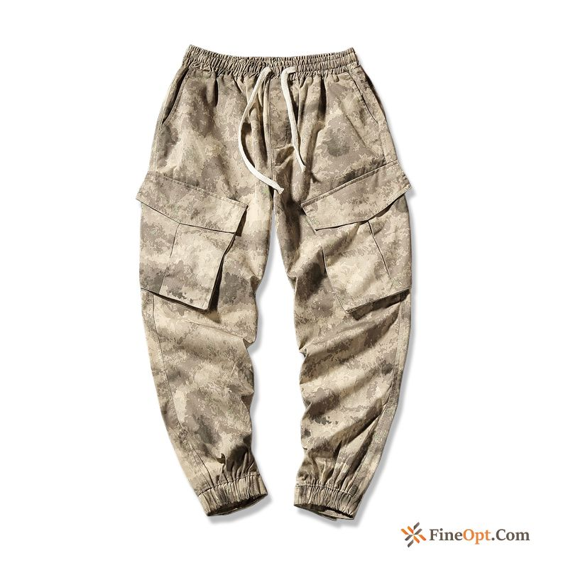 Cheap Fatty Youth Pants Large Size Trend Tight Trend Brand Cargo Pants