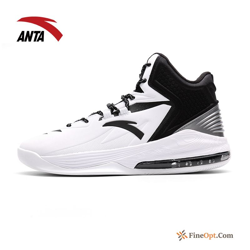 Cheap High Top Cushioning New Wear-resisting Boots Men's Air Cushion Basketball Shoes
