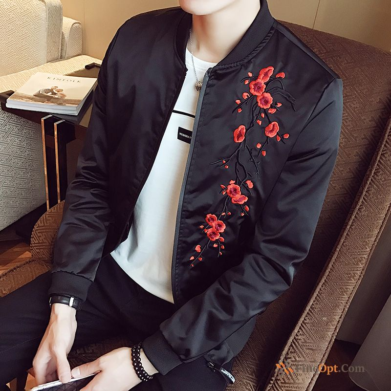Cheap Jacket Europe Embroidery Chinese Style Coat Spring Men's Jacket