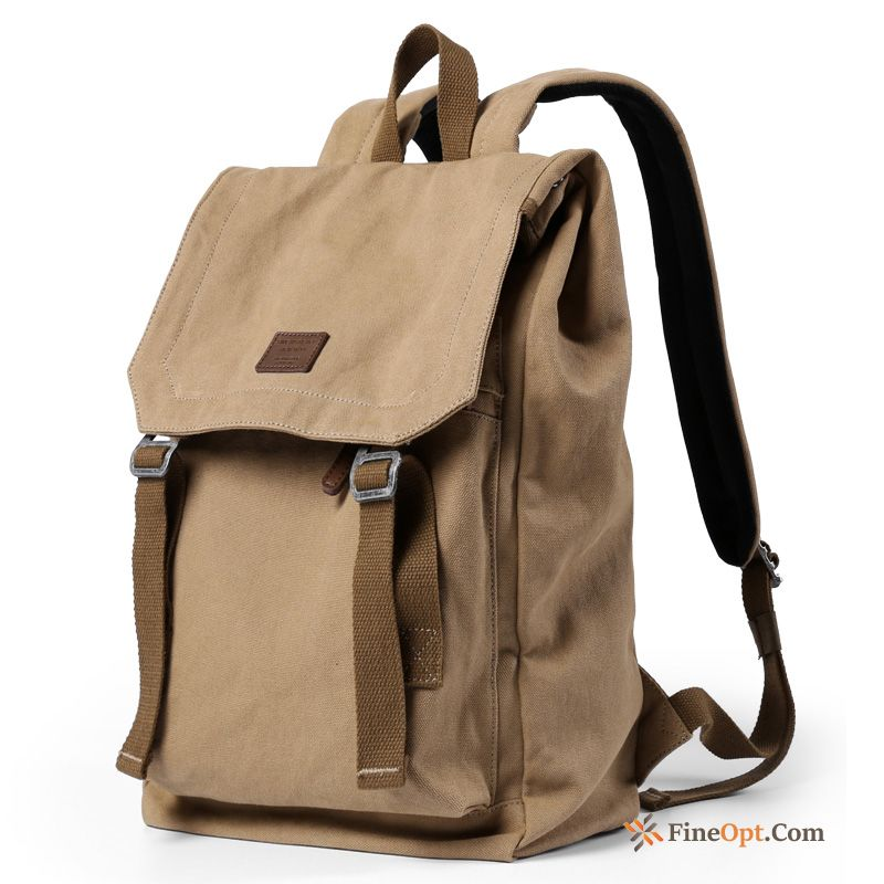 Cheap Men Canvas Women Student Fashion Backpack School Bag Travel Bag