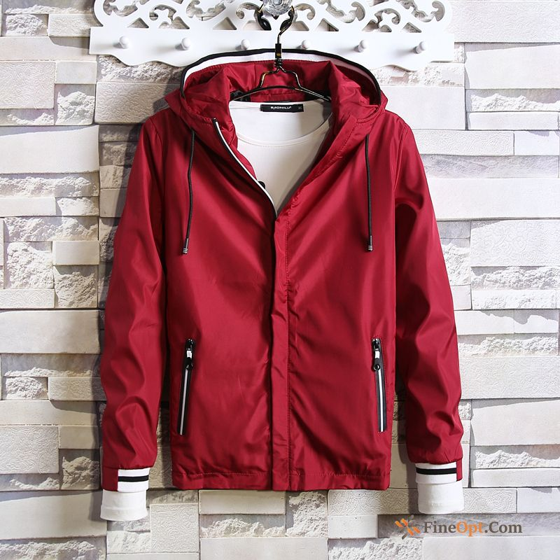 Cheap Men's Autumn Hooded Skinny Hoodies Sport Leisure Jacket