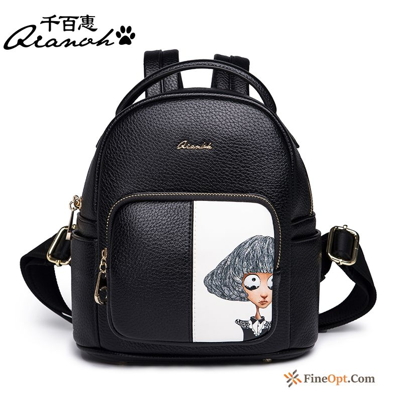 Cheap New Personality Women Multifunction Trend All-match Backpack Backpack