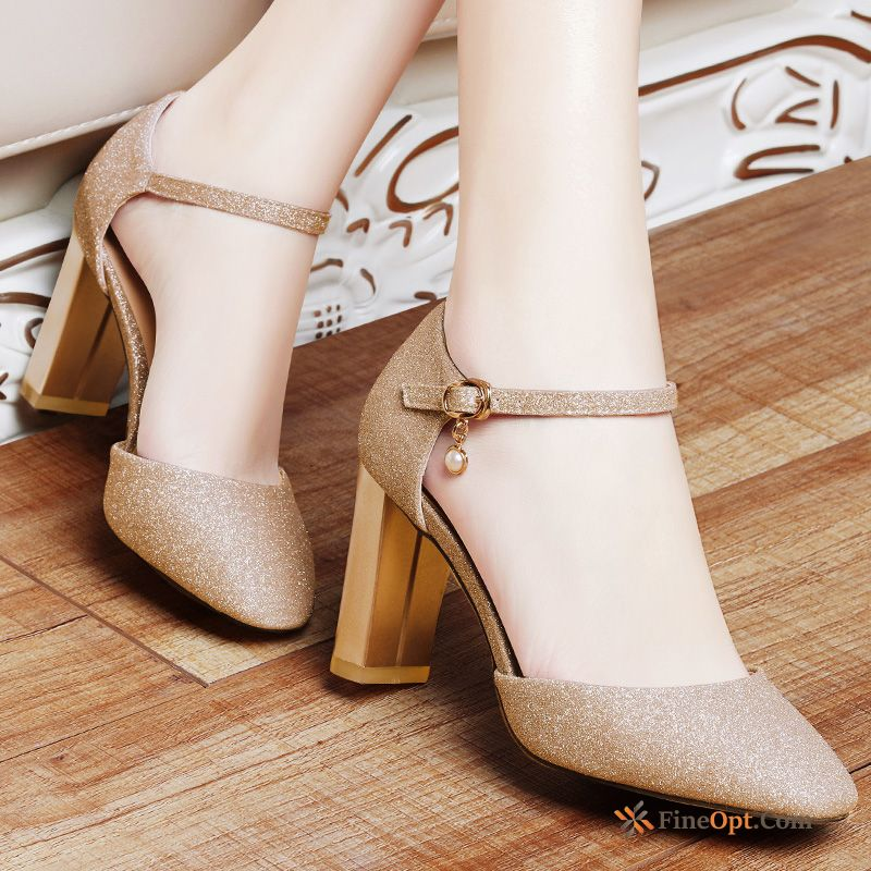 Cheap New Sandals Pointed Toe Fashion Pumps Summer Sexy Sandals