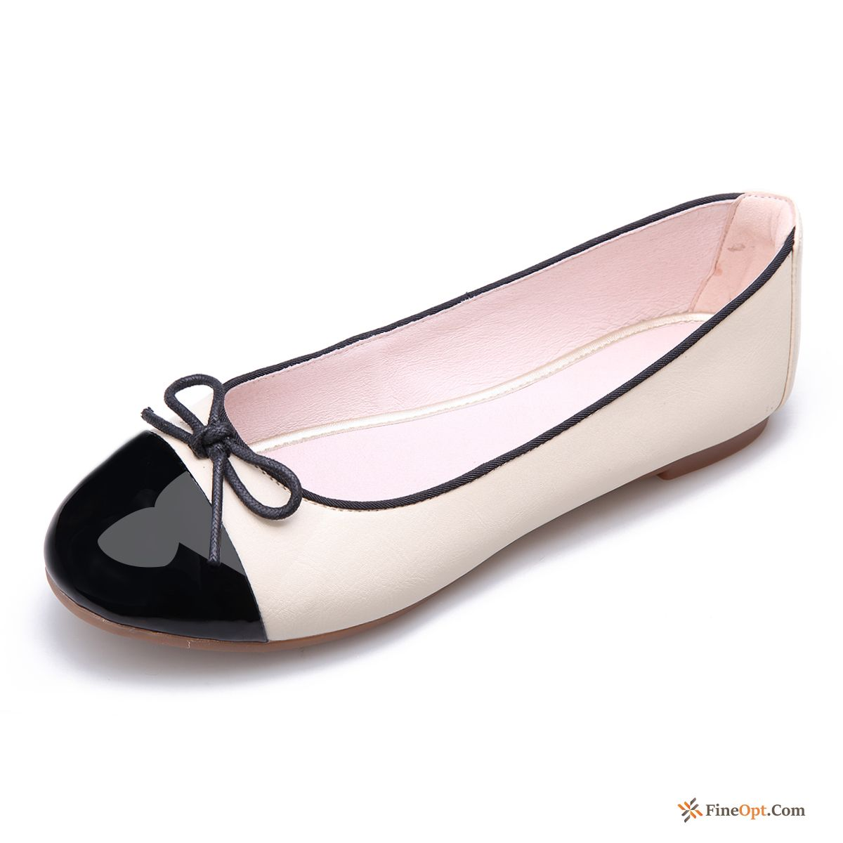 Cheap New Spring Flat Pumps Loafers Bow All-match
