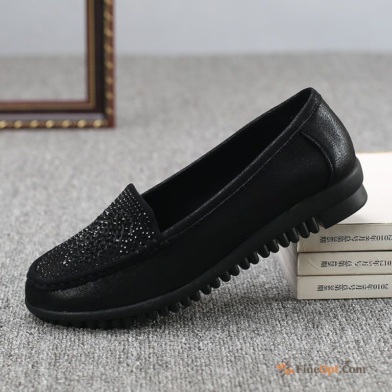Cheap Pumps Cloth Shoes Comfortable Spring Breathable Casing Low Sallow Loafers