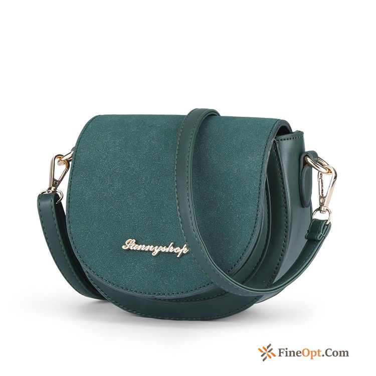 Cheap Retro Personality Shoulder Bags All-match Trend Fashion Mini Yellow Green