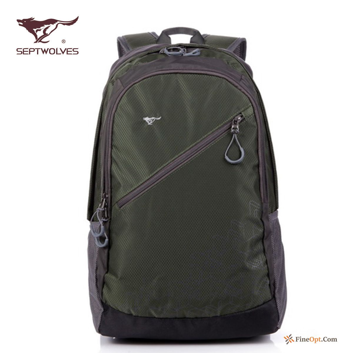 Cheap School Bag Leisure Men Men's Sport Backpack Light Grey Black Backpack