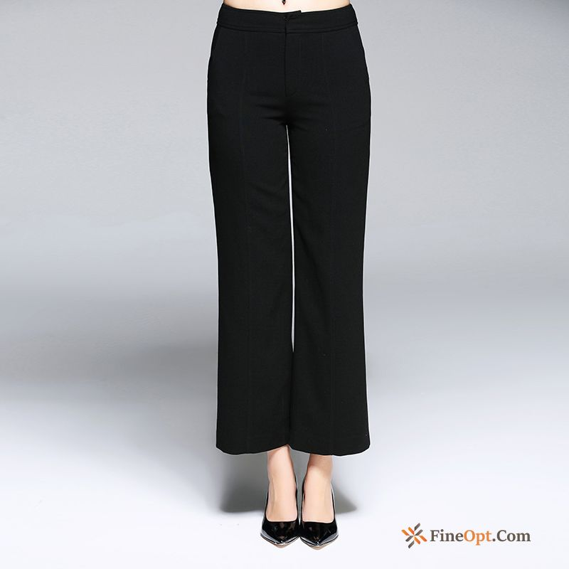Cheap Simple Straight All-match Fashion Pure Pants Spring Pants