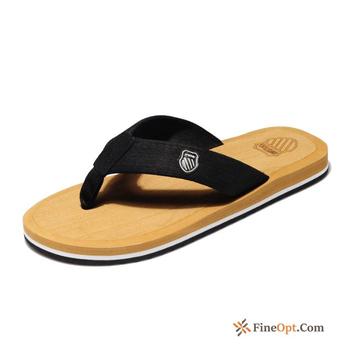 Cheap Slippers Casual Flip Flops Men's Big Size Anti-skid Thick Sole Flip Flops