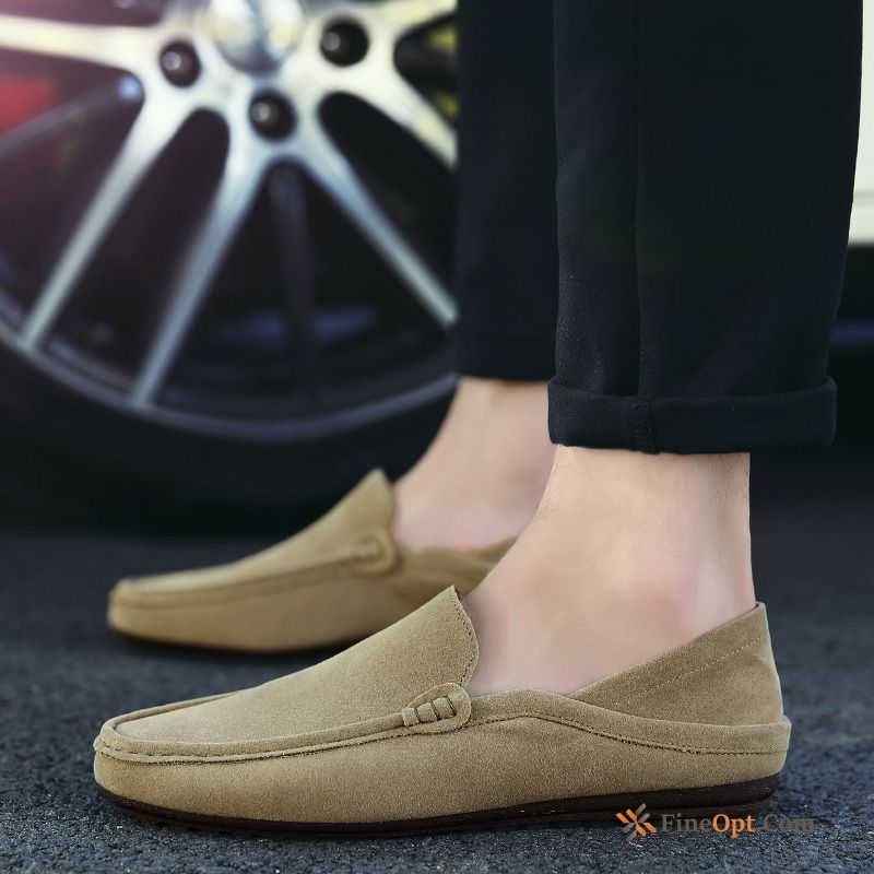 Cheap Teens Slip-on Men's Autumn Trend Loafers Slip On