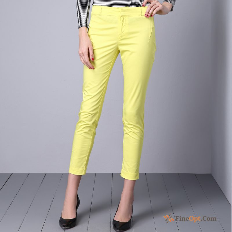 Cheap Trousers All-match Simple Spring New Leisure Pants