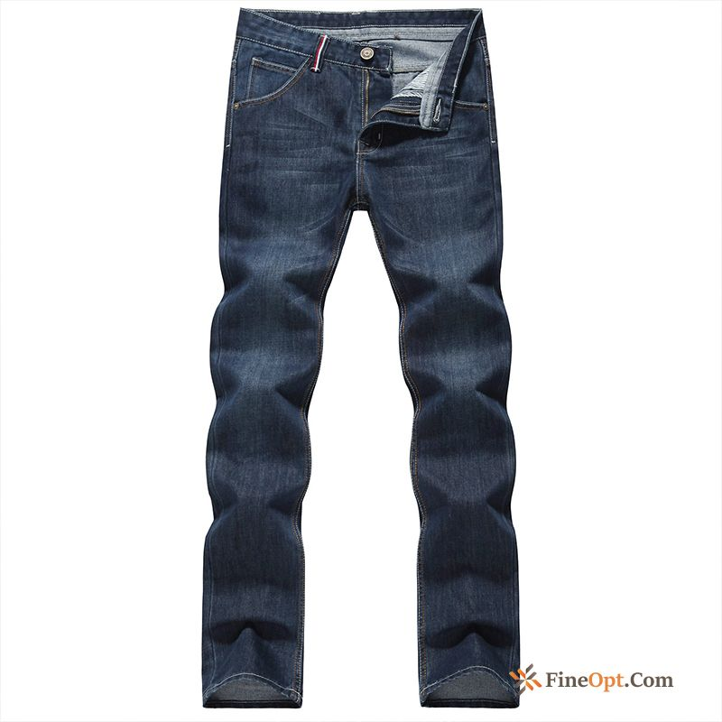 Cheap Trousers Jeans Denim Slim Leisure New Teens