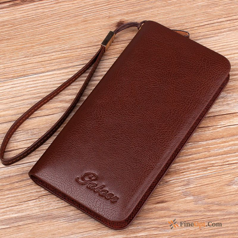Cheap Wallet Business Multifunction Wallets Zipper Trend Men's