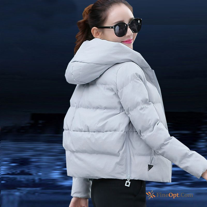 Cheap Winter Clothes Trend Cotton-padded Europe Short Coat Cotton Down Jacket