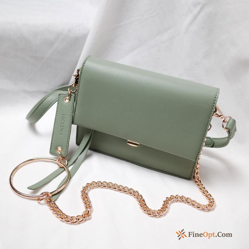 Cheap Women All-match Bags Small Chain New Oyster White Shoulder Bag