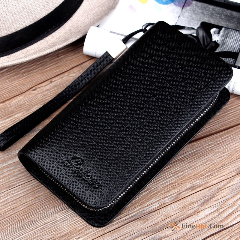 Clutch Bag High Capacity Men Business Mobile Phone Multifunction Men's Wallets Discount