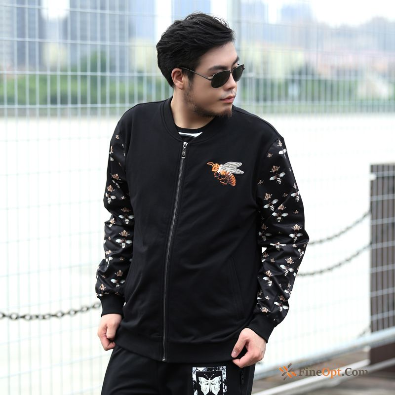 Coat Fat Hoodies Trend Loose Large Size Fatty Jacket Discount