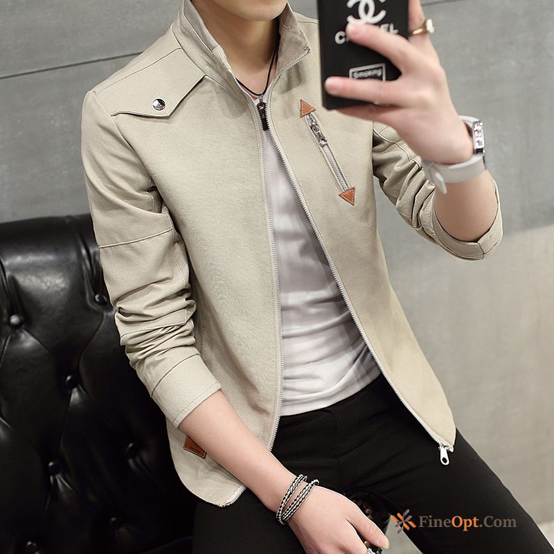 Coat Jacket New Men's Trend Europe Spring Jacket