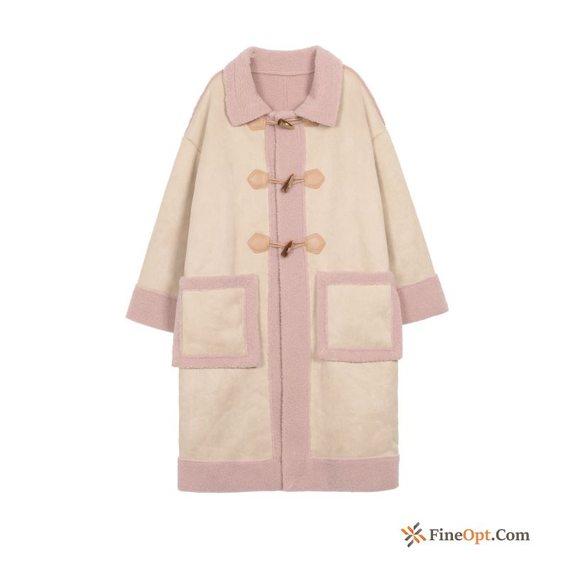 Cotton Coat Khaki Winter Clothes Baby Pink Coat Online