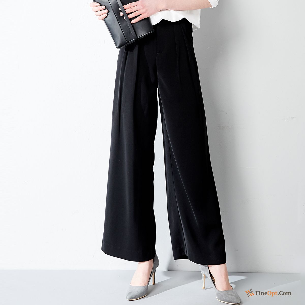 Cotton Leisure Trousers Loose Pants New High Waist Pants