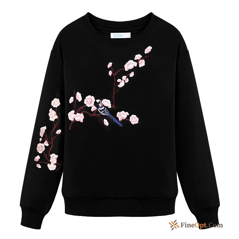 Embroidery Spring Winter Clothes Hoodies All-match New Pullovers Modena Hoodies