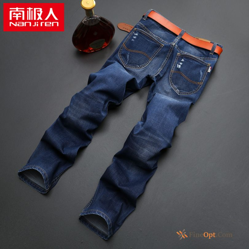 Europe Autumn Trend Leisure Pants Youth Blue Jeans Online