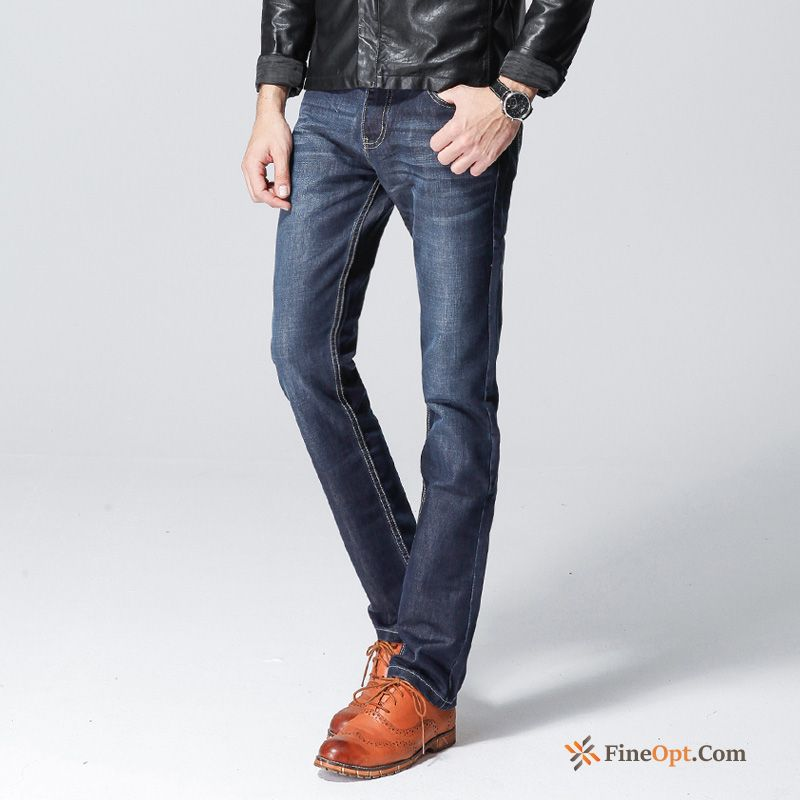 Europe Pants Leisure Youth Trend Jeans Trousers