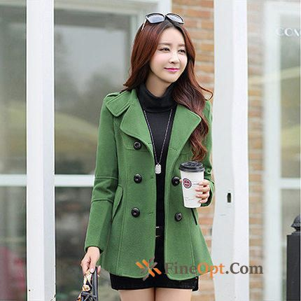 Europe Shorts Coat Thickening Woolen Autumn Winter Coat Online