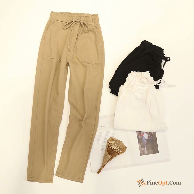 Europe Thin Ninth Pants Spring Harlan Autumn New Pants Online