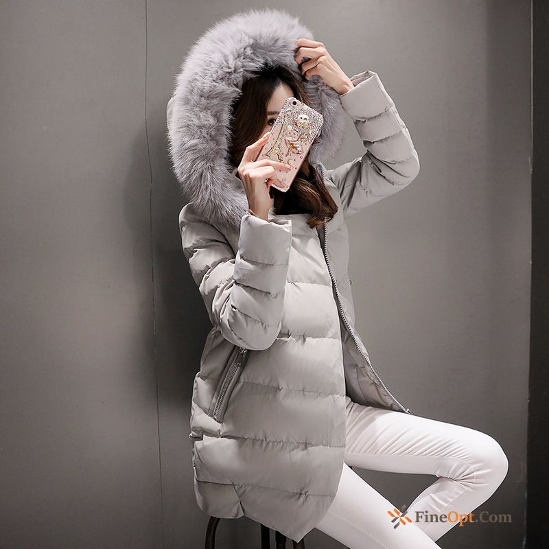 Europe Trend Long Winter Clothes New Coat Cotton-padded Jacket Sale