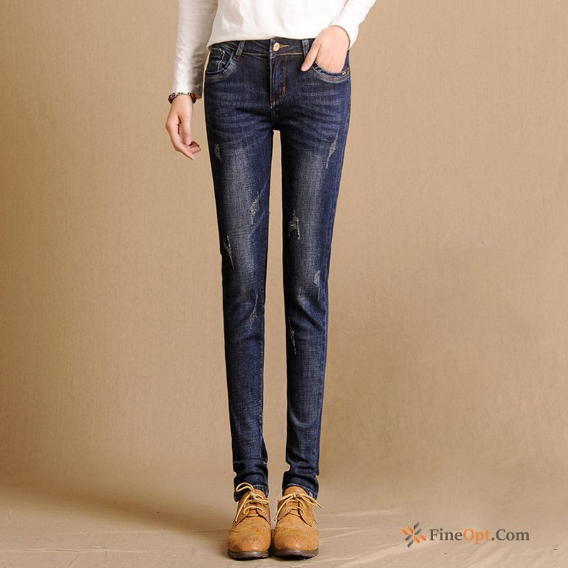 Fashion All-match Autumn Pencil Pants Slim Jeans Skinny Modena Sale